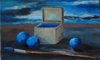 hommage to Morandi X, 2006, oil on vanvas, 20x30