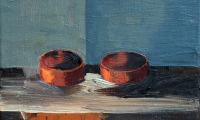 still life II, 2008, oil on canvas, 18x24