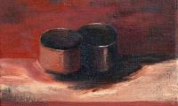 still life IV, 2008, oil on canvas, 18x20