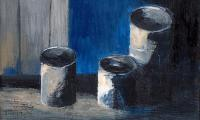 still life X, 2008, oil on canvas, 18x15