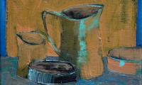 still life XI, 2008, oil on canvas, 18x24