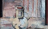 homage to Morandi XV, 2006, oil on canvas, 18x20