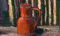 homage to Morandi XVI, 2006, oil on canvas, 18x20