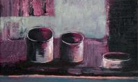 homage to Morandi XVII, 2006, oil on canvas, 18x20