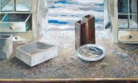 white still life, 2005,oil on canvas, 120x130