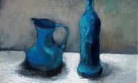 still life VIII, 2008, oil on canvas, 18x24