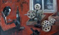 the last film show...VII, 2001, oil on canvas, 120x130