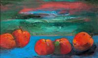 red apples, 2005, oil on canvas, 40x50
